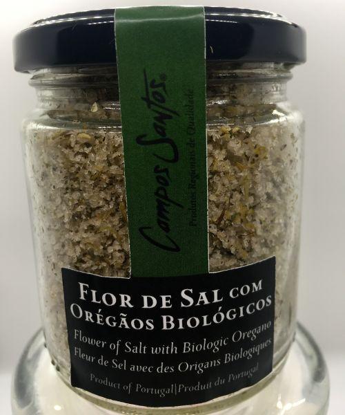Flor de Sal mit Oregano
