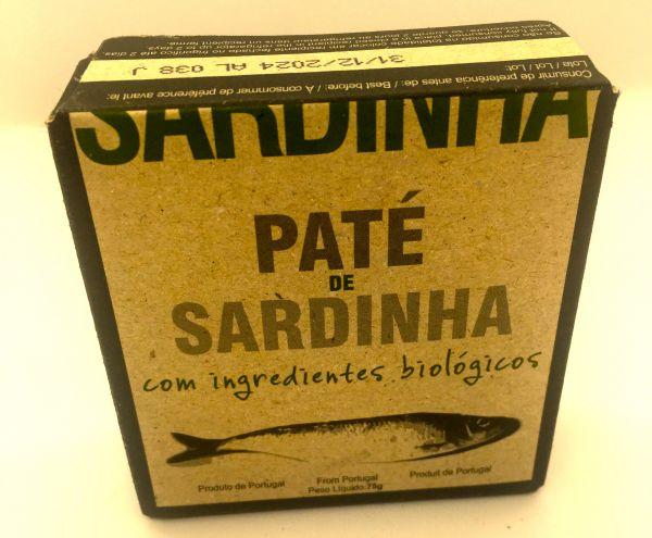 Sardinenpaste biologisch