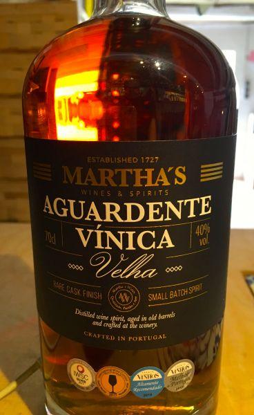 Martha´s Aguardente Vinica Velha Old Brandy