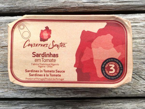 Sardinen in Tomatensoße