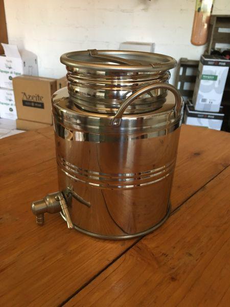 Fusti 3L Inox für Ihr Olivenöl