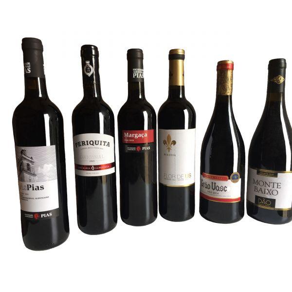 Probierpaket Wein Nr.1, 6x0,75L